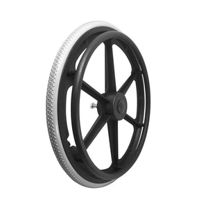 P-WP-20-01-01   20''x 1 Fixed Plastic Rim with PU Tires
