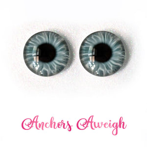 Anchors Aweigh - Premium Adhesive Glass Irises for Infinity™ Doll Eyes