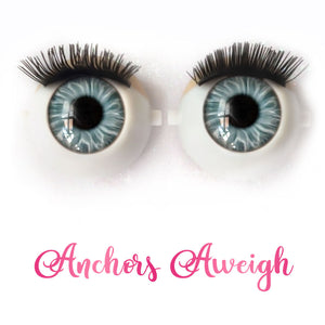 *IMPERFECT* Anchors Aweigh - Premium Classic Infinity™ Blinking Doll Eyes