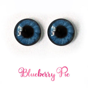 Blueberry Pie - Premium Adhesive Glass Irises for Infinity™ Doll Eyes