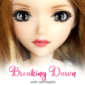 *IMPERFECT* Breaking Dawn (Anime) - Reflective BJD Eyes in SD Semi-Real Size (18mm Eye, 8mm Iris)