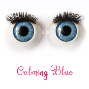 Calming Blue - Premium Classic Infinity™ Blinking Doll Eyes