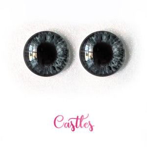 Castles - Premium Adhesive Glass Irises for Infinity™ Doll Eyes