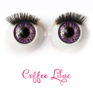 Coffee Lilac - Premium Classic Infinity™ Blinking Doll Eyes
