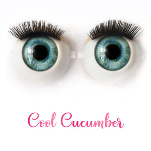 Cool Cucumber - Premium Classic Infinity™ Blinking Doll Eyes