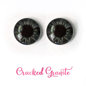 Cracked Granite - Premium Adhesive Glass Irises for Infinity™ Doll Eyes