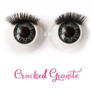 Cracked Granite - Premium Classic Infinity™ Blinking Doll Eyes