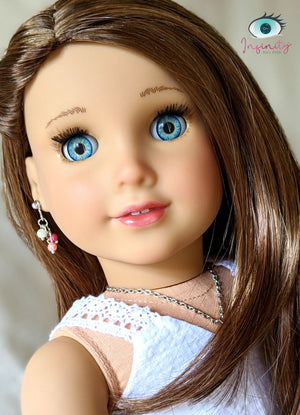 Daydream Blue - Premium Adhesive Glass Irises for Infinity™ Doll Eyes