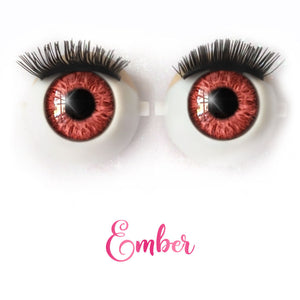 *IMPERFECT* Ember - Premium Classic Infinity™ Blinking Doll Eyes