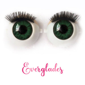 Everglades - Premium Adhesive Glass Irises for Infinity™ Doll Eyes