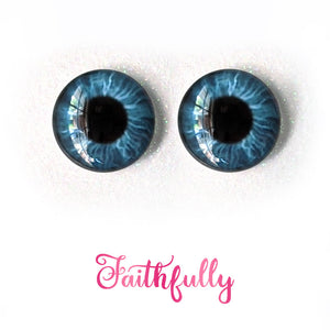 Faithfully - Premium Adhesive Glass Irises for Infinity™ Doll Eyes