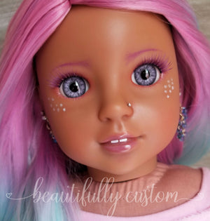 Two Pairs of Deluxe Doll Eyelashes – Bold and Beautiful (Fantasy)