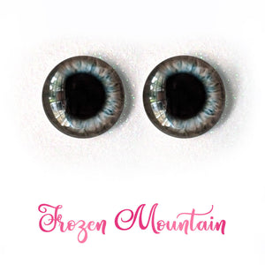 Frozen Mountain - Premium Adhesive Glass Irises for Infinity™ Doll Eyes