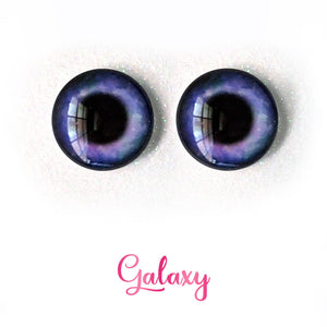 Galaxy - Premium Adhesive Glass Irises for Infinity™ Doll Eyes