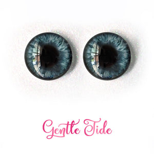 Gentle Tide - Premium Adhesive Glass Irises for Infinity™ Doll Eyes