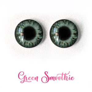 Green Smoothie - Premium Adhesive Glass Irises for Infinity™ Doll Eyes