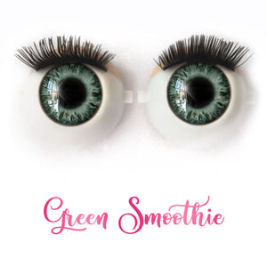 Green Smoothie - Premium Classic Infinity™ Blinking Doll Eyes