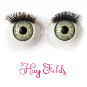 *IMPERFECT* Hay Fields - Premium Classic Infinity™ Blinking Doll Eyes
