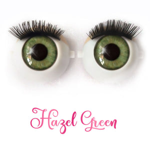 Hazel Green - Premium Adhesive Glass Irises for Infinity™ Doll Eyes
