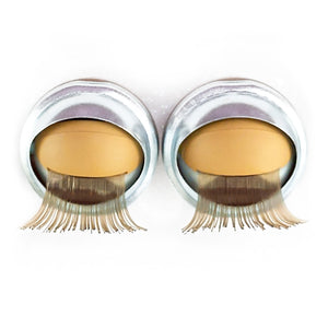 Light Skin Eyelids, Blonde Eyelashes - Infinity™ Premium Base Blinking Doll Eyes