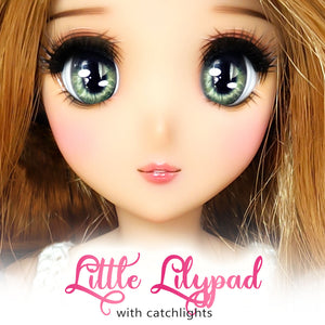 *IMPERFECT* Little Lilypad (Anime) - Reflective BJD Eyes in SD Full-Open Size (22mm Eye, 12mm Iris)