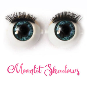 Moonlit Shadows - Premium Adhesive Glass Irises for Infinity™ Doll Eyes