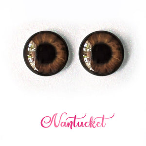 Nantucket - Premium Adhesive Glass Irises for Infinity™ Doll Eyes