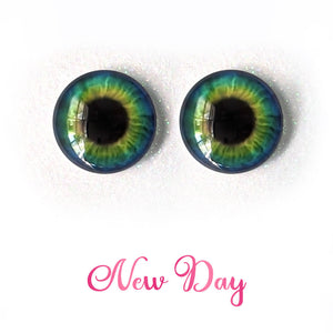 New Day - Premium Adhesive Glass Irises for Infinity™ Doll Eyes