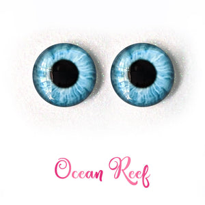 Ocean Reef - Premium Adhesive Glass Irises for Infinity™ Doll Eyes