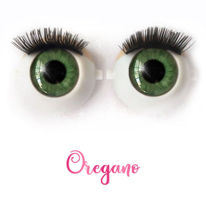 *IMPERFECT* Oregano - Premium Classic Infinity™ Blinking Doll Eyes