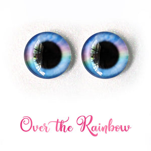 Over the Rainbow - Premium Adhesive Glass Irises for Infinity™ Doll Eyes