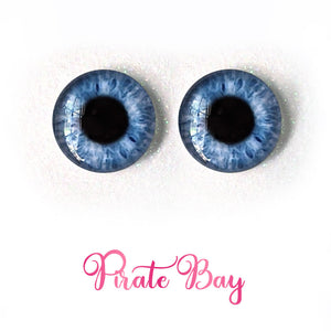 Pirate Bay - Premium Adhesive Glass Irises for Infinity™ Doll Eyes