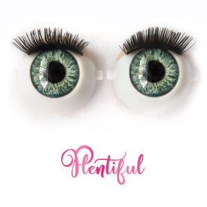 Plentiful - Premium Adhesive Glass Irises for Infinity™ Doll Eyes
