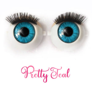 Pretty Teal - Premium Classic Infinity™ Blinking Doll Eyes