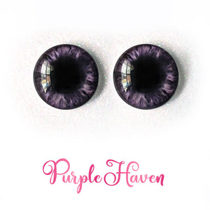 Purple Haven - Premium Adhesive Glass Irises for Infinity™ Doll Eyes