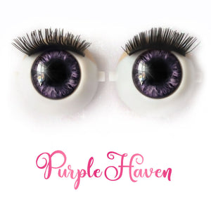*IMPERFECT* Purple Haven - Premium Classic Infinity™ Blinking Doll Eyes