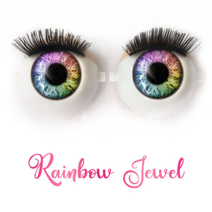 Rainbow Jewel - Premium Classic Infinity™ Blinking Doll Eyes