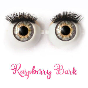 *IMPERFECT* Raspberry Bark - Premium Classic Infinity™ Blinking Doll Eyes