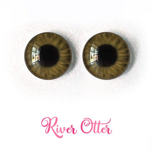 River Otter - Premium Adhesive Glass Irises for Infinity™ Doll Eyes