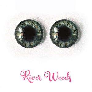 River Weeds - Premium Adhesive Glass Irises for Infinity™ Doll Eyes