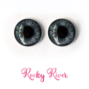 Rocky River - Premium Adhesive Glass Irises for Infinity™ Doll Eyes