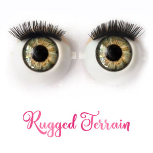 Rugged Terrain - Premium Adhesive Glass Irises for Infinity™ Doll Eyes