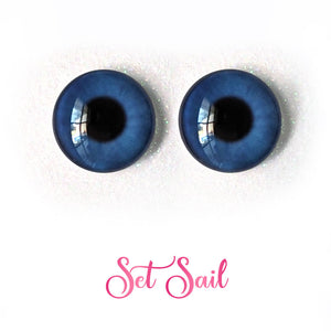 Set Sail - Premium Adhesive Glass Irises for Infinity™ Doll Eyes
