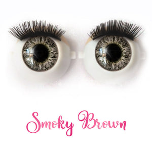 Smoky Brown - Premium Classic Infinity™ Blinking Doll Eyes