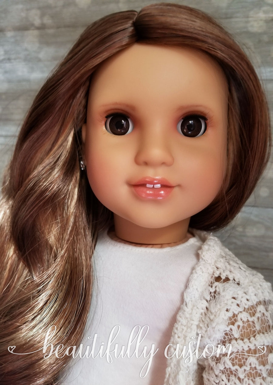 Custom Doll Services: Artist's Choice Face-Up for Your Sent-in Doll