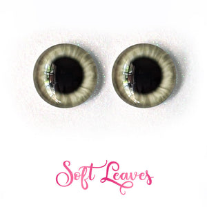 Soft Leaves - Premium Adhesive Glass Irises for Infinity™ Doll Eyes