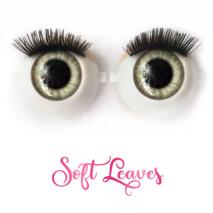 Soft Leaves - Premium Classic Infinity™ Blinking Doll Eyes