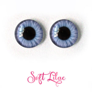 Soft Lilac - Premium Adhesive Glass Irises for Infinity™ Doll Eyes
