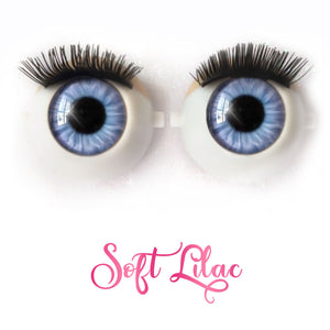 *IMPERFECT* Soft Lilac - Premium Classic Infinity™ Blinking Doll Eyes