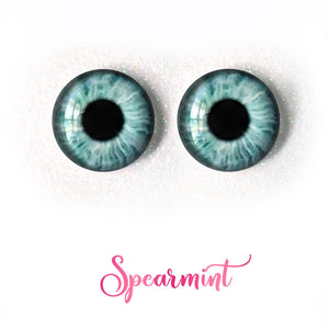 Spearmint - Premium Adhesive Glass Irises for Infinity™ Doll Eyes